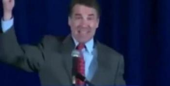 Rick Perry's Bizarre Cornerstone Speech