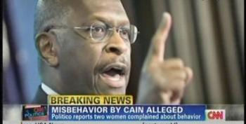 Herman Cain Accused Of 'Sexually Suggestive' Harassment In 1990s