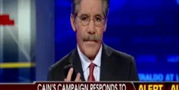Geraldo Calls Cain's Spokesman Replies On Sexual Harassment Charges 'A Recipe For Disaster'