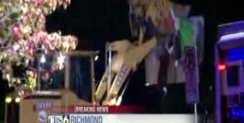 Police Use Bulldozers To Break Up Occupy Richmond