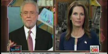 Michele Bachmann Blames Obama For Lives And Money Lost In Iraq