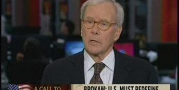 Tom Brokaw Claims We Need To Get Lobbyist Influence Out Of Politics While Touting 'Tea Party' As Grass Roots