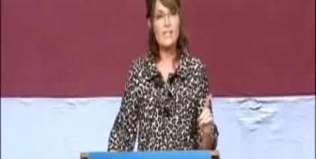 Palin: Occupy Protesters Want Bailouts Just Like Wall Street Fat Cats