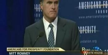 Romney Promises To Raise Retirement Age, Privatize Medicare At Koch Brothers Event