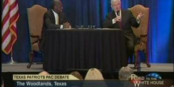 Herman Cain And Newt Gingrich Debate At Adultery-Free 'Tea Party' Fundraiser