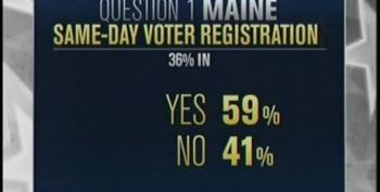 AP: Maine Voters Approve Ballot Measure To Restore Same Day Voter Registration