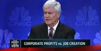 Gingrich Slams The Media For Not Reporting Accurately How The Economy Works