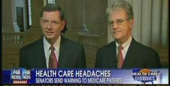 Greta Van Susteren Allows Coburn And Barrasso To Lie To Seniors About Medicare