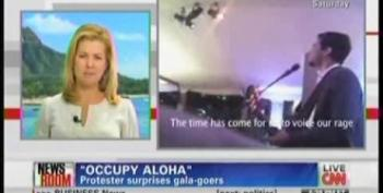 Occupy Aloha Protester Surprises APEC Leaders