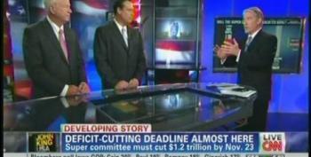 John King Allows Chambliss And Shuler To Fearmonger Over Deficit