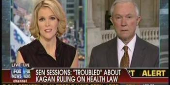 Megyn Kelly Throws Cold Water On Jeff Sessions Latest Excuse For Kagan To Recuse Herself From Health Care Law Hearing
