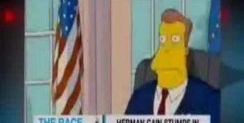 Herman Cain References The Simpsons 'I'm A Leader, Not A Reader!'