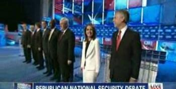 Let's Get Ready To Rumble! Wolf Blitzer Introduces GOP Candidates At CNN Debate