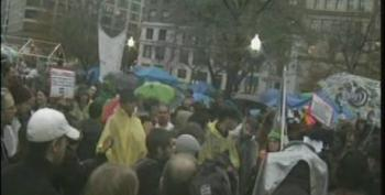 PBS Newshour: #OccupyDC Protests Show No Sign Of Letting Up After Marchers From New York Reach D.C.