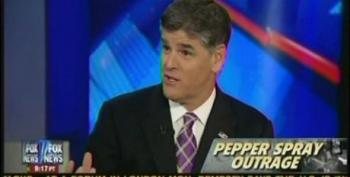 Hannity Thinks Use Of Pepper Spray On #OccupyDavis Protesters Didn't 'Cross The Line'