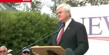 Gingrich To Obama: 'Repudiate The Concept Of The 99' Percent