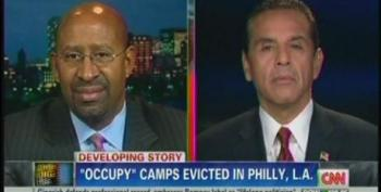 Mayors Defend Evictions Of OccupyLA And OccupyPhilly Protesters