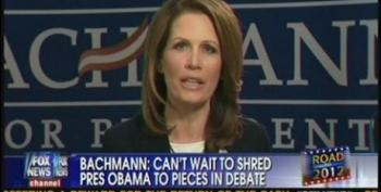 Michele Bachmann's Short List For AG And Veep: Rick Santorum And Donald Trump