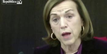 Italian Welfare Minister In Tears As She Announces Austerity Measures