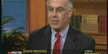 David Brooks Lumps Olbermann, Schultz, Coulter, Beck And Limbaugh Together During Book TV Interview
