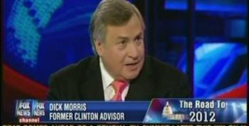 Dick Morris Admits He's Taken Money From Candidates He's Shilling For On Fox