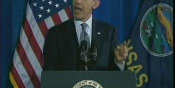 PBS Coverage Of The President's Speech In Osawatomie, Kansas