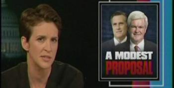 Rachel Maddow: Newt Gingrich Is The Jonathan Swift Character In The GOP Presidential Primary Race