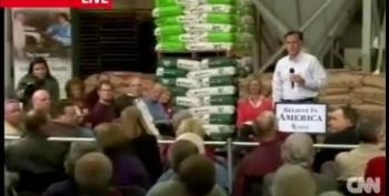 Undocumented Immigrant Booted From Romney Event