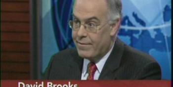 David Brooks Excuses Republicans Move To The Far Right And Dismisses The Call To Raise The One Percent's Taxes