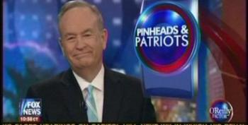 Bill O'Reilly Resorts To Calling Stewart A Pinhead During War On Christmas Dust Up