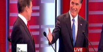 'Middle Class' Romney Tries To Bet Perry $10,000
