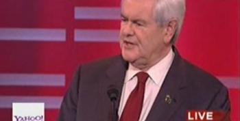 Newt Gingrich Blames Hillary Clinton For His Support Of The Individual Mandate