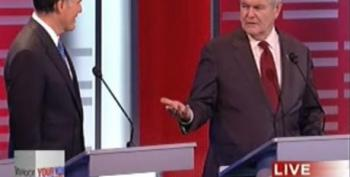 Gingrich Slams Romney For Career Politician Remark