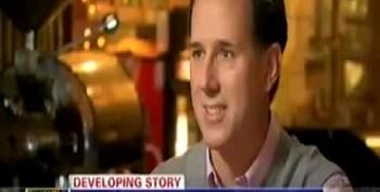 Santorum: Obama 'Doesn't Deserve Credit' For Getting Bin Laden