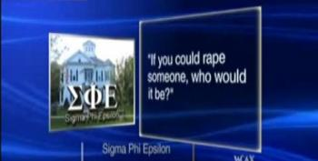 Vermont Fraternity Asks Members Who They Want To Rape