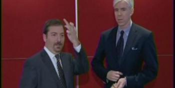 Chuck Todd Flips The Bird On Live Television Triggering Right's Latest Feigned Outrage For The Day
