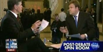Hannity And Luntz Credit Gingrich's Rise In The Polls To 'His Playing The Historian'