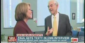 Ron Paul Gets Testy With Gloria Borger Over Questions On Racist Newsletters