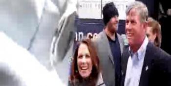 Gay Robot Confronts Bachmann: 'You're A Robo-Phobe!'