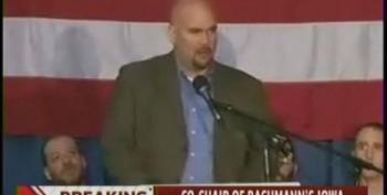 Bachmann's Iowa Chair Defects And Endorses Ron Paul