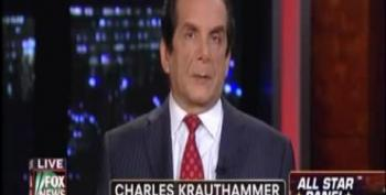 Krauthammer: 'Embarrassing Candidates' Making Obama Look Better