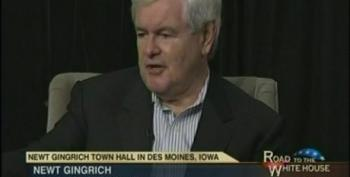 Gingrich: Poor People Will 'Fix' Redistribution If You Get Them A Job