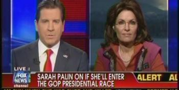 Fox Still Pushing The Idea That Palin Could Enter GOP Primary Race