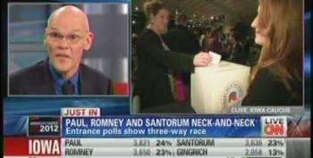 Carville On Republicans Voting For Romney: 'It's Like You're Trying To Give Your Dog A Pill. They Keep Spitting It Up'