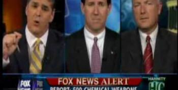 Santorum Debunked Over WMD's By FOX News