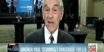 Paul: Gingrich 'Chickened Out' Of Military Service