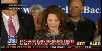 Michele Bachmann Suspends Campaign