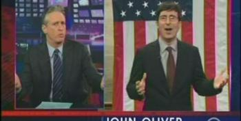 John Oliver Explains Our 'Do Nothing' Congress To Jon Stewart