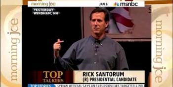 Santorum: Americans 'Need A Jesus Candidate'