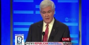 Newt Gingrich Reacts To Ron Paul Calling Him A Chickenhawk